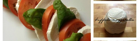 Caprese Salad--Fresh Mozzarella, Tomatoes and Basil