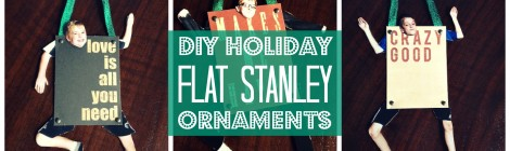 DIY Holiday Flat Stanley Ornaments