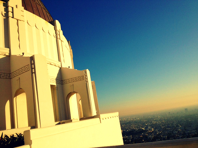 Above LA...Griffith Observatory