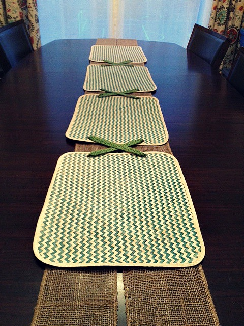 Diy Placemat Table Runner