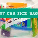 DIY Car Sick Bag