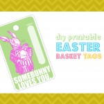 DIY Printable Easter Basket Tags