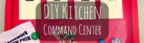 DIY Kitchen Command Center