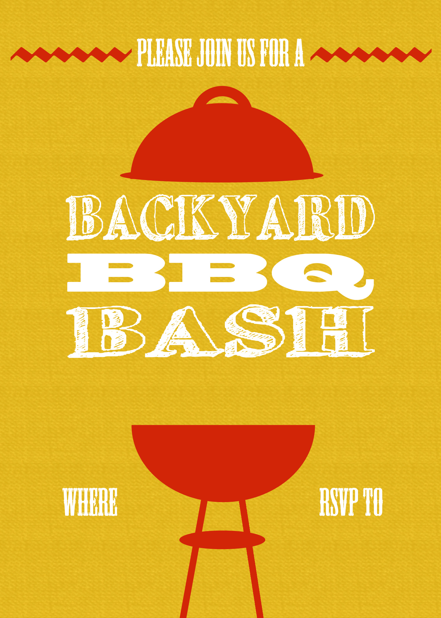 diy printable backyard bbq bash invite. Black Bedroom Furniture Sets. Home Design Ideas